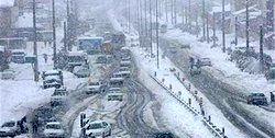 آخرین وضعیت ترافیکی جادههای کشور/بارش برف در ۸ استان