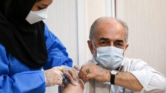واکسیناسیون دومین گروه هنرمندان پیشکسوت