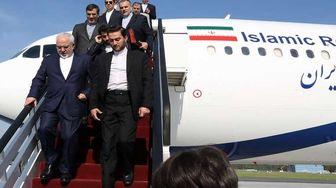 ظریف پکن را به مقصد مسکو ترک کرد