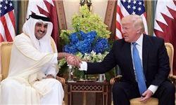 دیدار امیر قطر با ترامپ منتفی شد
