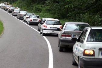 ترافیک نیمه سنگین و جوی آرام در جادههای کشور