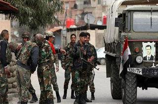 استقرار نیروهای ارتش سوریه در شهر تل رفعت