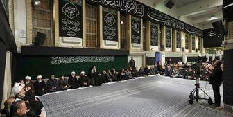 برگزاری مراسم عزاداری شب عاشورای حسینی (ع) با حضور رهبر انقلاب