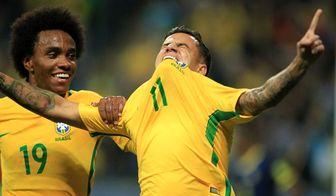 لیست اولیه برزیل برای جام جهانی 2018 روسیه مشخص شد