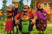 انیمیشن طنز «بختک» را ببینید/ فیلم