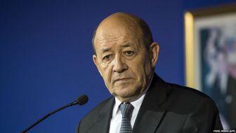 سفر وزیر خارجه فرانسه به تهران در شانزدهم دی ماه
