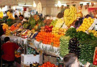 آرامش حاکم بر بازار میوه های نوبرانه پاییزی