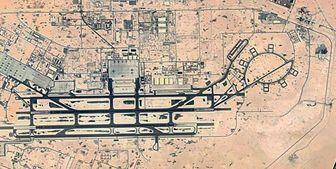 رصد پایگاه نیروهای آمریکایی در العدید توسط ماهواره نور ایران+تصاویر