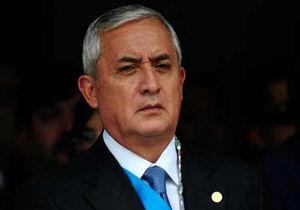 صدور حکم بازداشت رئیس جمهور گواتمالا
