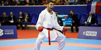 پورشیب سومین طلای کاراته ایران را کسب کرد