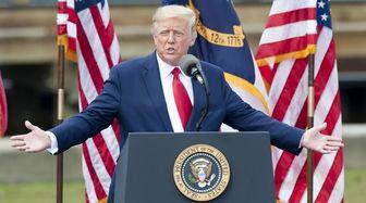 سر دادن شعار بر ضد اوباما در همایش انتخاباتی ترامپ