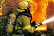 آتش سوزی واحد مسکونی در محله خزانه بخارایی