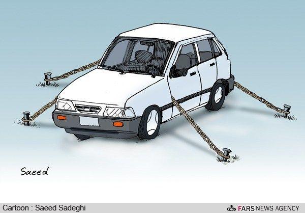 کم شدن نیمی از تلفات با اجرای طرح کاهش سوانح رانندگی/ کارتون: سعید صادقی