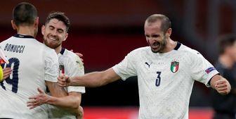 ترکیب منتخب انگلیس و ایتالیا+ عکس