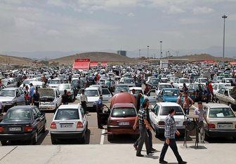 خودروهای ۷۰ تا ۱۰۰میلیونی بازار تهران