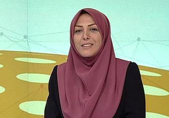 اعتراض شدید خانم مجری به قطعی برق+عکس