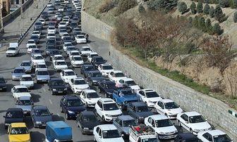 ترافیک سنگین در محورهای هراز و فیروزکوه