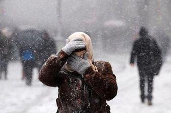 ۱۰ شهر قزاقستان در پی برف و سرمای شدید تعطیل شد