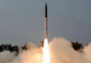 آزمایش موفقیتآمیز یک موشک بالستیک با قابلیت هستهای در هند