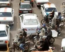محدودیت تردد موتورسیکلتها در مرکز شهر
