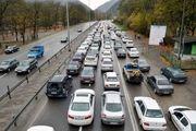 آخرین وضعیت ترافیکی جاده ها/ترافیک نیمه سنگین در آزادراه کرج_ تهران