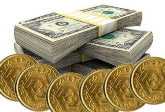 قیمت سکه و ارز کاهش یافت+جدول