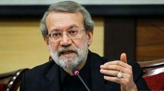 لاریجانی: ظریف نماد ورزیدگی و سختکوشی دیپلماسی ایران است