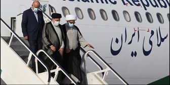 استقبال از رئیسی در فرودگاه شیراز+ فیلم