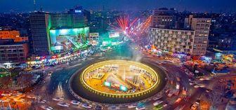 رونمایی از دیوارنگاره میدان ولیعصر در آستانه شروع ماه محرم