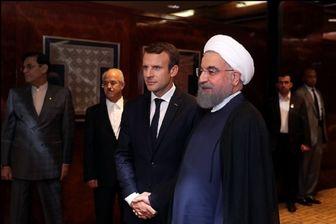 بیانیه فرانسه درباره گفتگوی تلفنی مکرون و روحانی