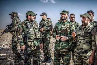 حمله موشکی حشد الشعبی به داعش در خاک سوریه