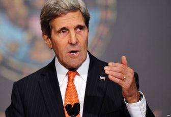 حمایت جان کری از اقدام نظامی آمریکا در سوریه