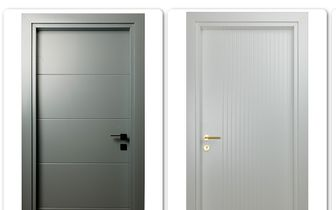 انواع مختلف درب های داخلی ساختمانی HDF و MDF