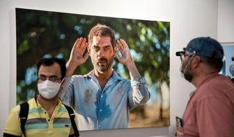 حضور چهره ها در نمایشگاه عکس «درخت گردو»/ تصاویر