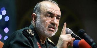 سردار سلامی: سپاه نخواهد گذاشت مردم ذرهای در سختی قرار بگیرند