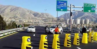 محور کندوان و آزادراه تهران-شمال یک طرفه شد