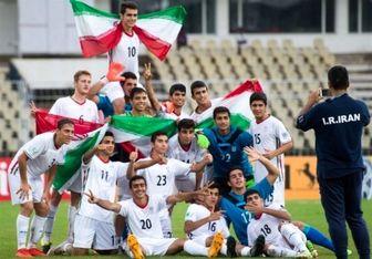 تیم فوتبال نوجوانان ایران به فینال صعود کرد