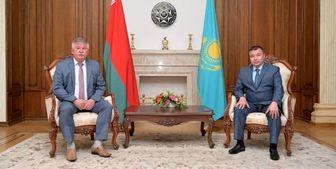 تقویت همکاری در زمینه امنیت مرزی در دیدار مقامات قزاقستان و بلاروس