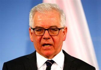 حمایت لهستان از تحریمهای آمریکا علیه ایران