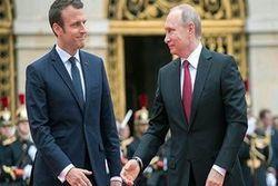 ماکرون بر گفتگو میان روسیه و اروپا تاکید کرد