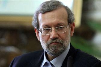 لاریجانی: مذاکرات هسته ای رو به جلو است