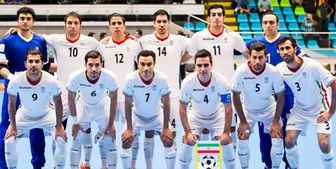 تیم ملی فوتسال با تاجیکستان و کویت همگروه شد