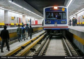 حرکت تمام وقت قطارها در مترو فرودگاه مهرآباد