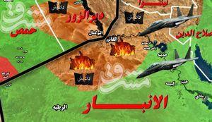 ادامه عملیات آزادسازی القائم در استان الأنبار