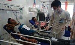 نجات ۱۱ کارگری که با گاز CO مسموم شده بودند