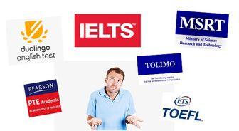 7 مدرک و آزمون مهم زبان انگلیسی در ایران   5 آزمون بین المللی و 2 آزمون داخلی   هر آنچه لازم است بدانید!   مهارت ها، اعتبار، محل برگزاری، هزینه و نمره