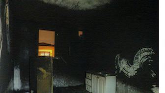 یخچالی که خانه را به آتش کشاند+تصاویر