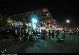 وضعیت میدان میوهوترهبار پس از اجرای طرح تعزیرات