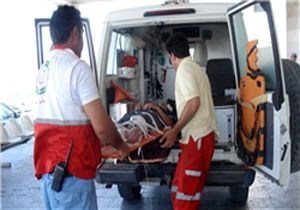 نجات جوان گرفتار در ارتفاعات سدکارده