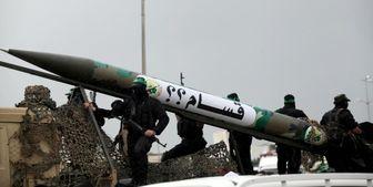 آزمایش موشکی حماس در نواز غزه به سمت دریای مدیترانه